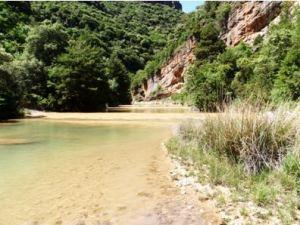 La zona donde arranca el camino a la Matosa