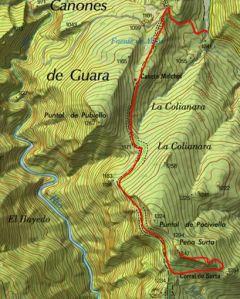 Mapa Surta