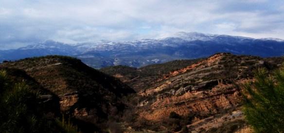 Vistas a la Sierra desde Labata