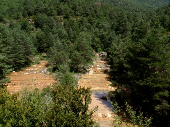 Confluencia del Barranco Barón con el Río Flumen