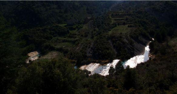 Vistas al Flumen y la Pardina de Ascaso