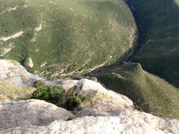 Las Palomeras del Flumen desde la Peña San Miguel
