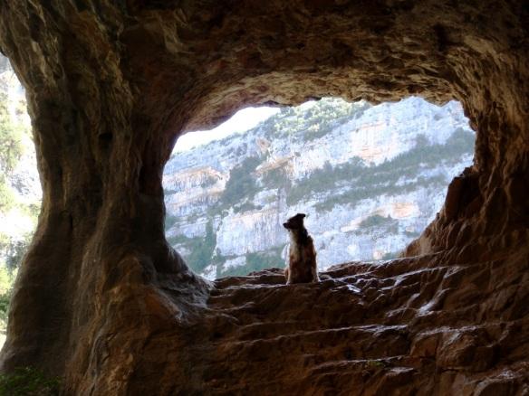 La senda de las Escaleretas en el Vero