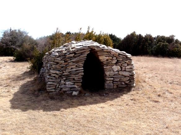La caseta en la Balsa de Asba
