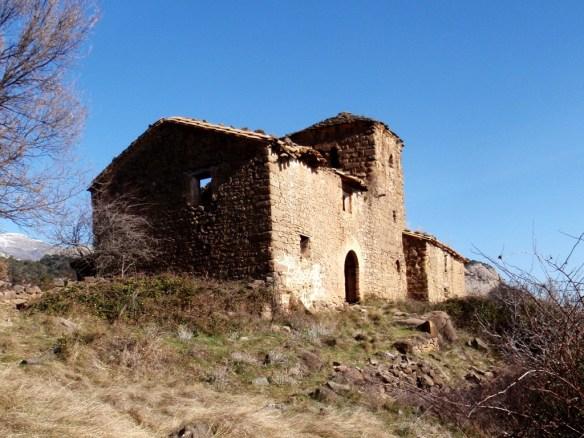 La solitaria Ermita de la Virgen de Fabana