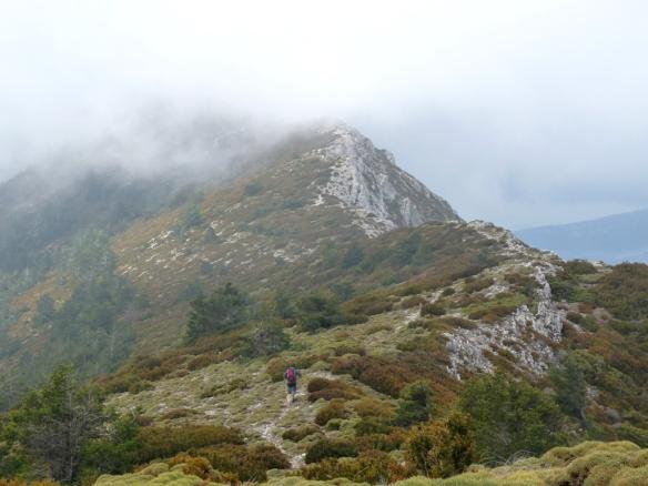 La Ronera hacia el Pico Fragineto