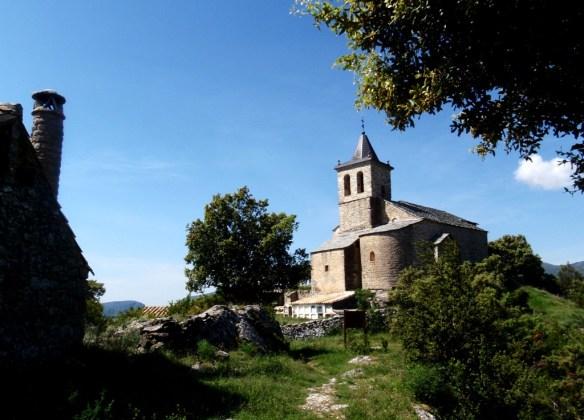 La iglesia de San Esteban de Almazorre