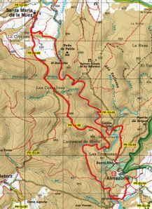 Recorte del Mapa Alpina