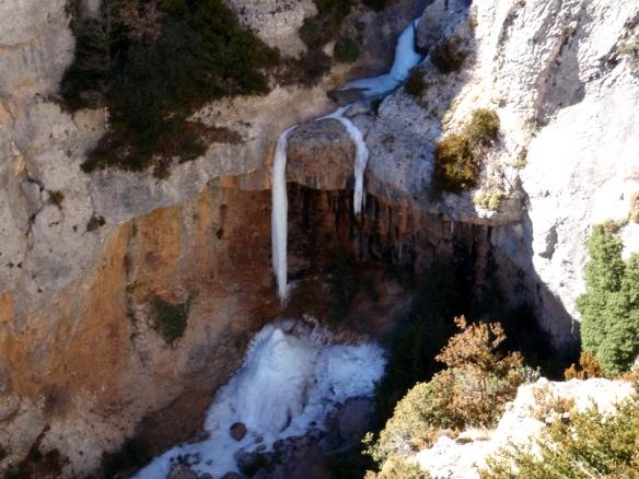 La cascada grande del Barranco Raisen
