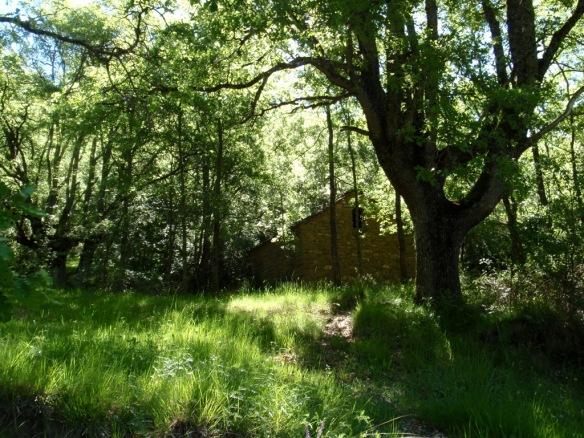 Una borda en las cercanías de Alastrué