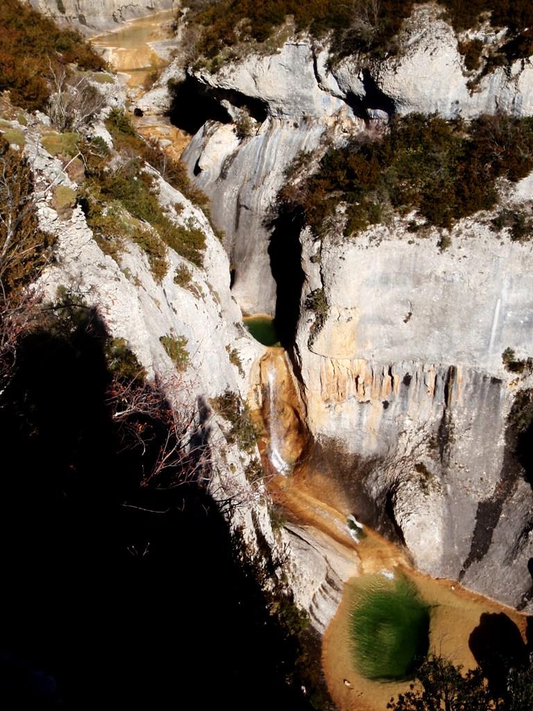 Las Cascadas Peña Guara