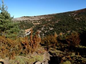 La zona del Corral de Chocás y Paniebla