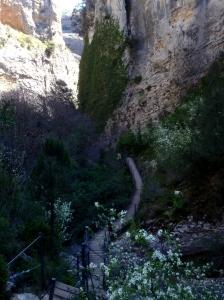 El Sendero del Barranco de la Fuente