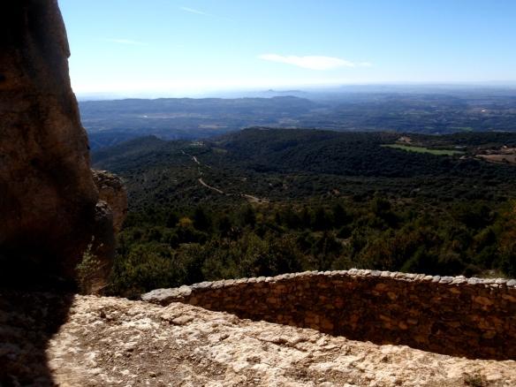 Las vistas desde Quizáns al Somontano
