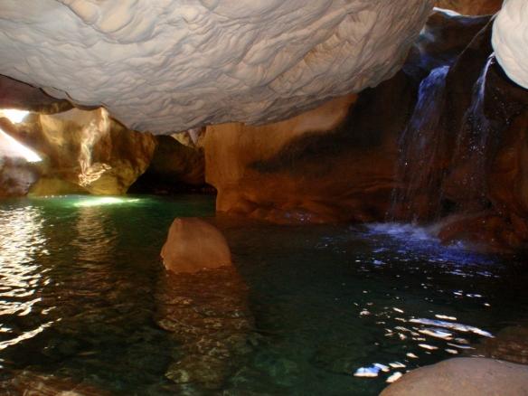 Poza interior del Caos de la Fuente Conciatas