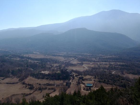 Vistas sobre San Úrbez y el Valle de Nocito