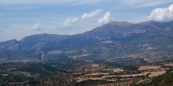 Una parte de las vistas desde la Ermita de Quiteria