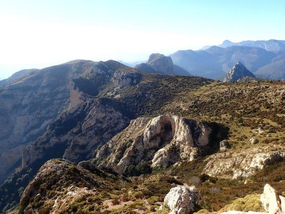 Las vistas desde el Matapaños
