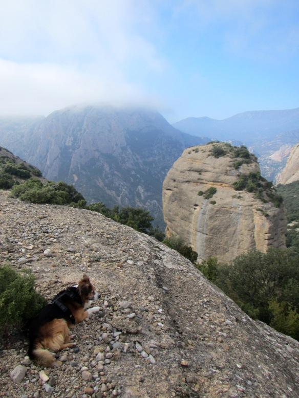 Las vistas desde la punta oriental de la Peña San Cosme