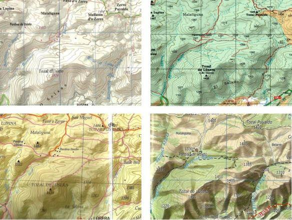 4 mapas
