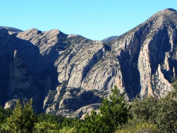 El Rincón de Lazas visto desde las cercanías de la Cruz Blanca