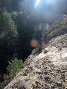 El salto del Barranco Reguero