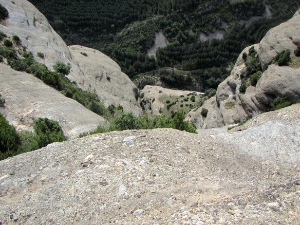La Canal del Palomo desde el Paso de la Losa