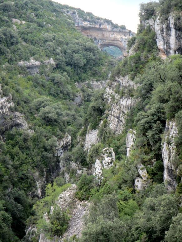 El Barranco Fornocal y el Portal de la Cunarda