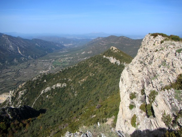 Vistas del Monte Peiró al Valle del Garona