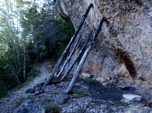 Un refugio en la roca