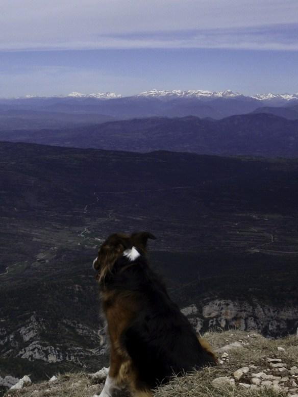 Las vistas desde el Tozal de Guara