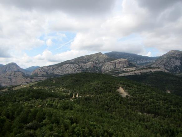 Las vistas desde el Horno de los Mozos al Pico de Mondinero