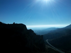 Las vistas al Castillo de Ordás