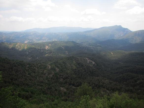 Vistas al valle de Bara