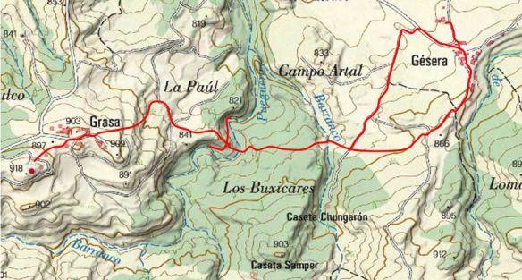 Recorte Mapa Sigpac