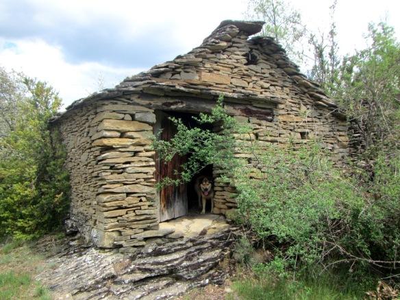 La caseta en el vado del Barranco Manatuero