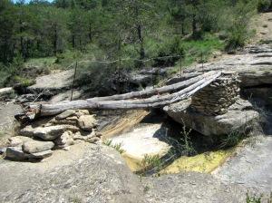 El puente sobre el Barranco Pequera