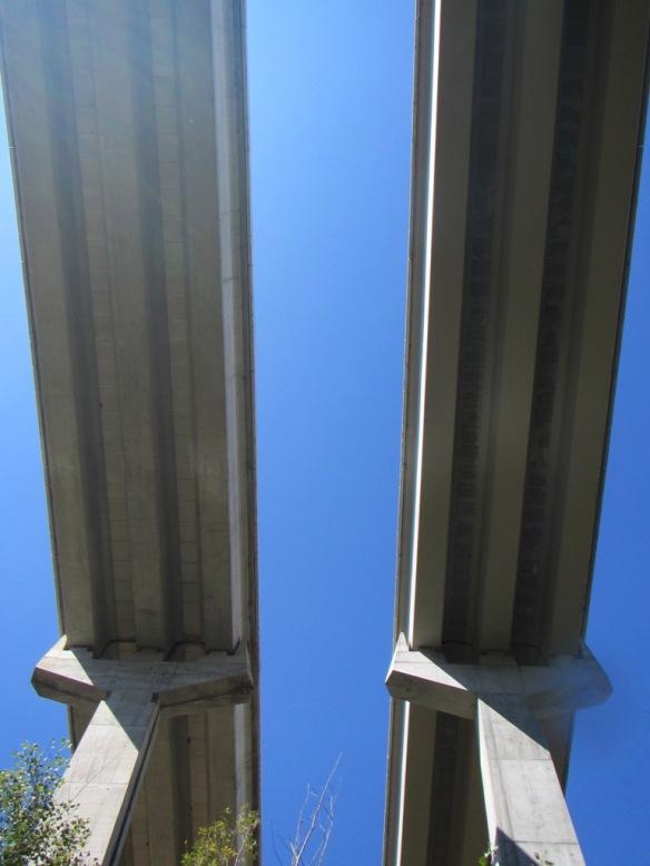 El puente de la autovía