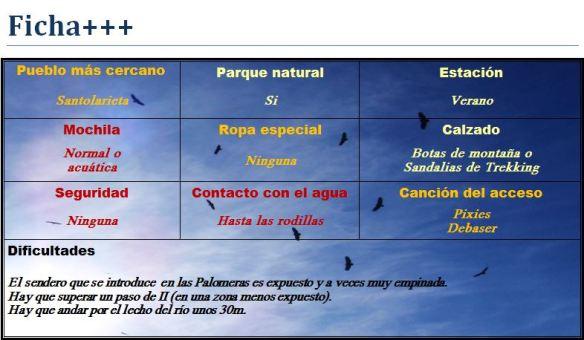 Ficha Palomera