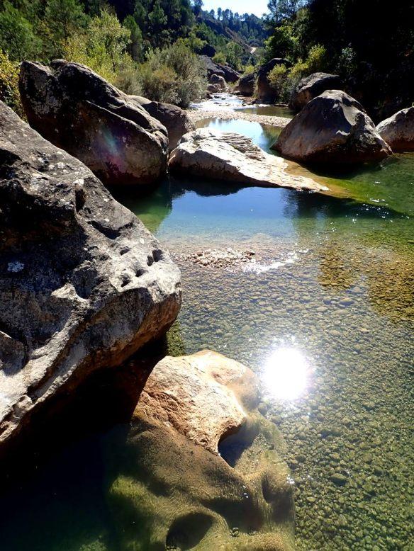 El Río Alcanadre por Junzano