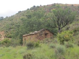 La borda en el Barranco del Valle de Onsera
