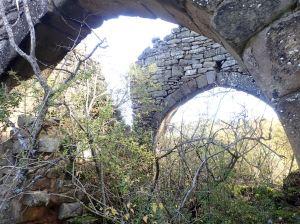 Las ruinas de la ermita