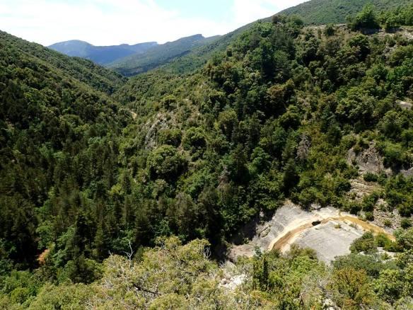 El Salto del Barranco de la Cercosa.