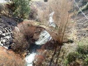 El puente medieval sobre el Isuela