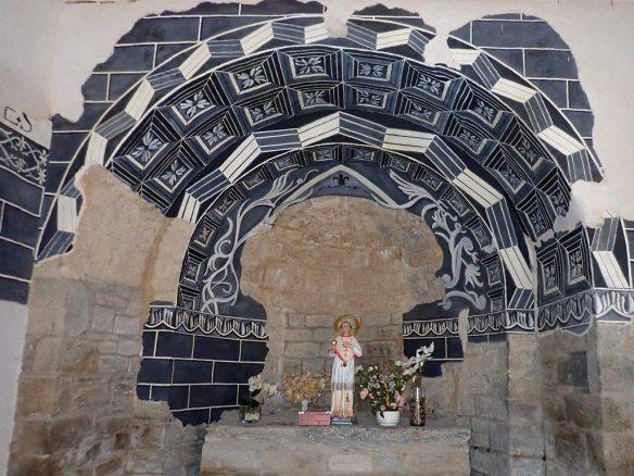 El interior de la Ermita de San Román