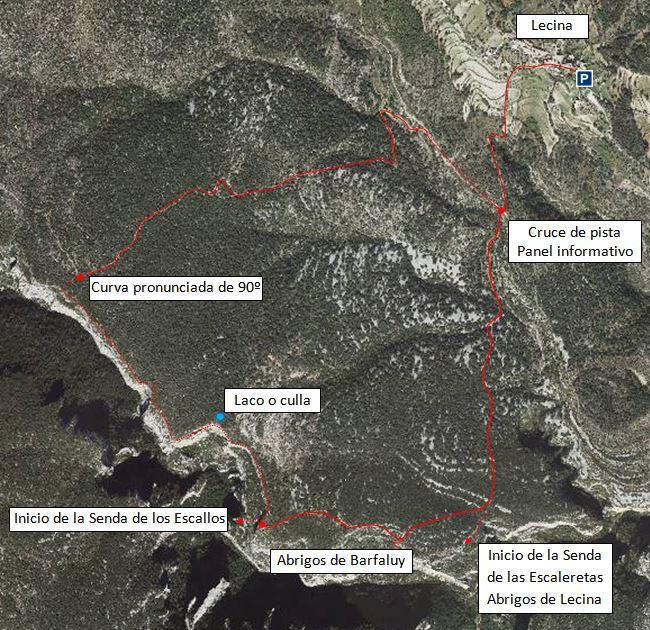 Recorte Foto de satélite Sigpac